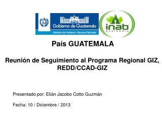 País GUATEMALA