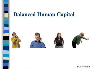 Balanced Human Capital