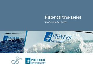 Historical time series