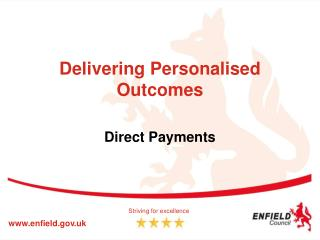 Delivering Personalised Outcomes