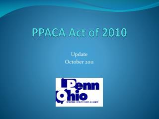PPACA Act of 2010