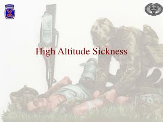 High Altitude Sickness