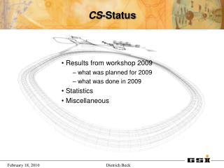 CS -Status