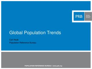 Global Population Trends
