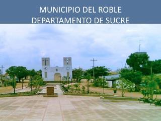 MUNICIPIO DEL ROBLE DEPARTAMENTO DE SUCRE