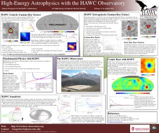 Web:	   hawc-observatory Contact:    weisgarber@physics.wisc