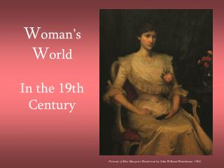 Woman s World   In the 19th Century