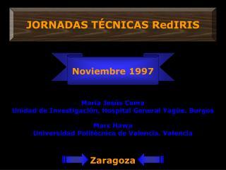 JORNADAS TÉCNICAS RedIRIS