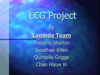 ECG Project
