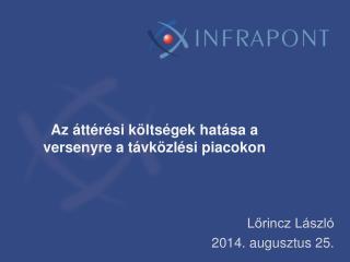 Az áttérési költségek hatása a versenyre a távközlési piacokon