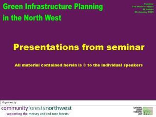 GI seminar presentations Jan 2005