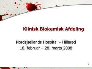Klinisk Biokemisk Afdeling