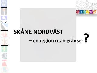 Skåne nordväst