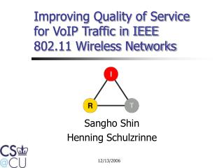 Improving Quality of Service  for VoIP Traffic in IEEE 802.11 Wireless Networks