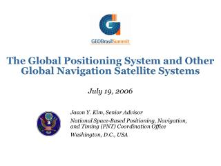 The Global Positioning System and Other Global Navigation Satellite Systems