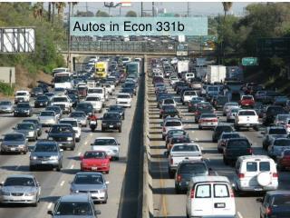 Autos in Econ 331b