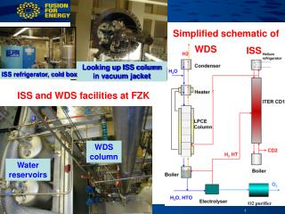 ISS and WDS facilities at FZK