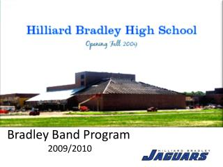 Bradley Band Program  2009/2010