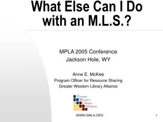 What Else Can I Do with an M.L.S.?