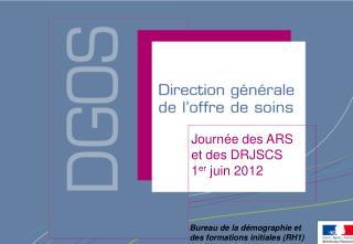 Journée des ARS  et des DRJSCS 1 er  juin 2012
