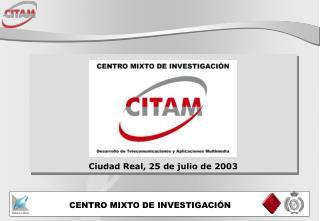 Ciudad Real, 25 de julio de 2003