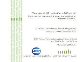 Treatment of VAT registration in BOP and NA