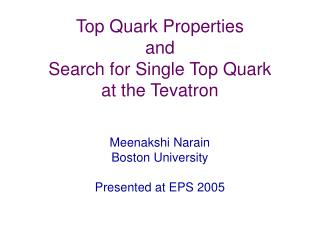 Top Quark Properties and  Search for Single Top Quark at the Tevatron