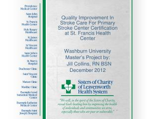 What Is Primary Stroke Center Certification?