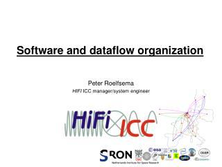 Software and dataflow organization
