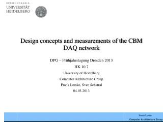 Design concepts and measurements of the CBM DAQ network
