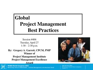 Global      Project Management           Best Practices