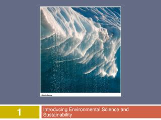 Introducing Environmental Science and Sustainability