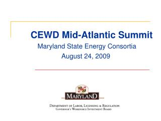 CEWD Mid-Atlantic Summit
