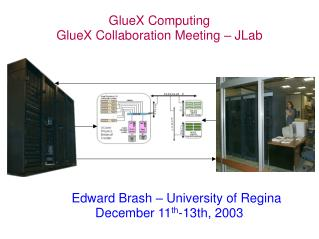 GlueX Computing GlueX Collaboration Meeting – JLab