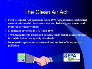 The Clean Air Act