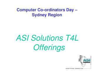 Computer Co-ordinators Day –  Sydney Region