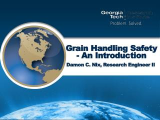 Grain Handling Safety - An Introduction