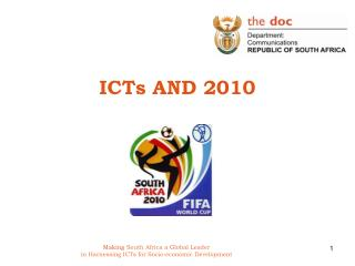 ICTs AND 2010