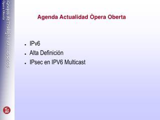 Agenda Actualidad Òpera Oberta
