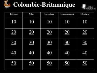 Colombie-Britannique