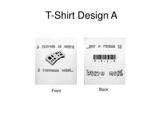 T-Shirt Design A