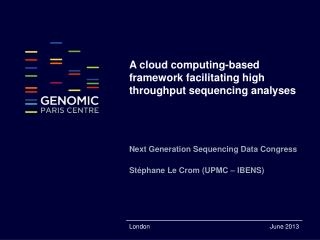 A cloud computing-based framework facilitating high throughput sequencing analyses