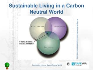 Sustainable Living in a Carbon Neutral World