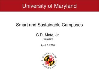 Smart and Sustainable Campuses