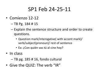 SP1 Feb 24-25-11