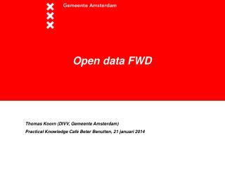 Open data FWD