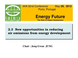2.3  New opportunities in reducing   air emissions from energy development