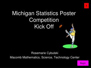 Michigan Statistics Poster Competition Kick Off
