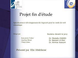 Projet fin d'étude