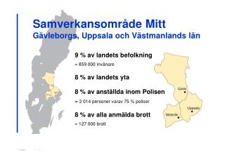 Samverkansområde Mitt Gävleborgs, Uppsala och Västmanlands län